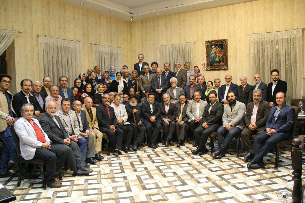 مراسم افطاری اعضای انجمن مجموعه داران ایران در تاریخ ۹۷/۲/۲۸