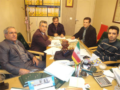 جلسه کمیته خط و حساب سیاق در تاریخ 92/11/21